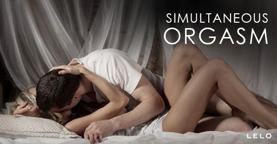 Simultaneous orgasm sex