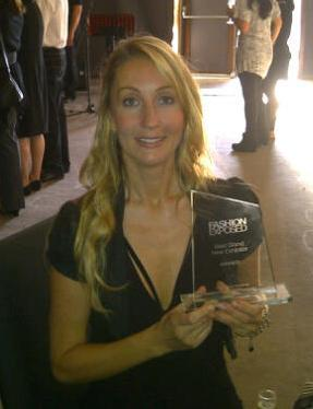 Jo With Award
