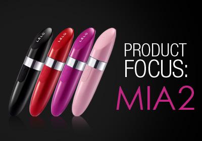 MIA™ 2; the Discreet Lipstick Vibrator