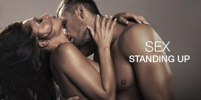 Sex standing porn