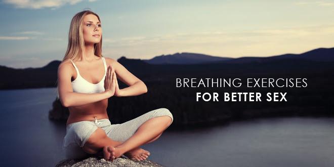 breathing for better sex