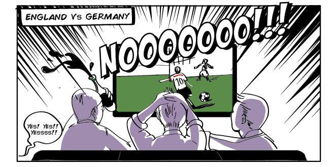 World Cup Comic Strip