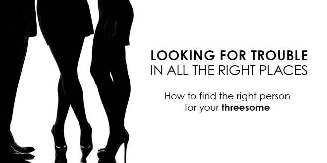 how to find another woman for a threesome