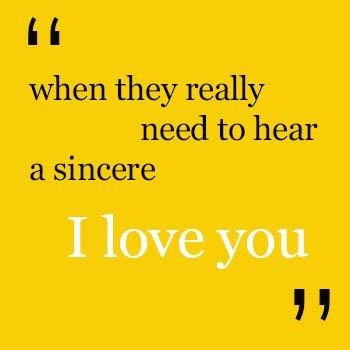 better communication I love you