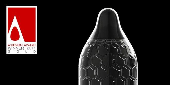 Design Award for LELO's HEX™ Condoms