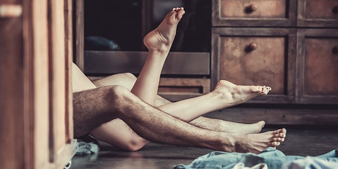 Sex position for every room in the house