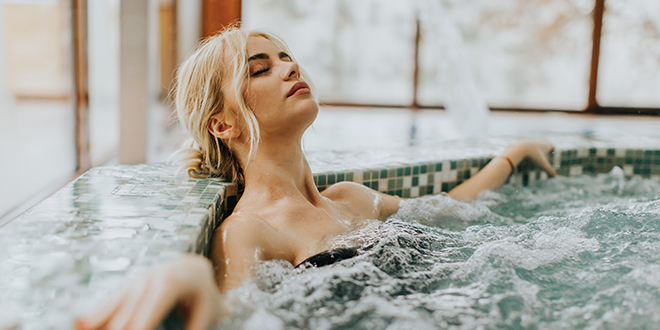Jacuzzi Lover Erotic Story