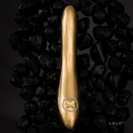 Inez Vibrador bañado en oro de 24 quilates o en acero inoxidable
