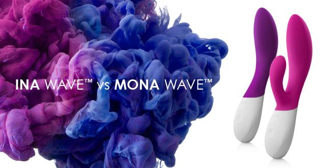 INA vs MONA waves LELO