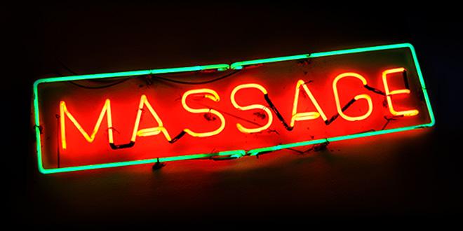 pálido sexo de masaje