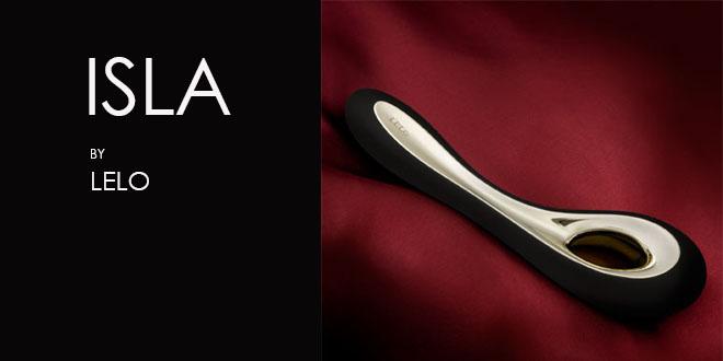 Juguete erótico: ISLA, el vibrador de diseño para el Punto G