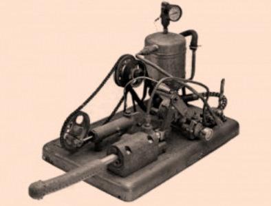 Le premier vibromasseur à vapeur, le manipulator