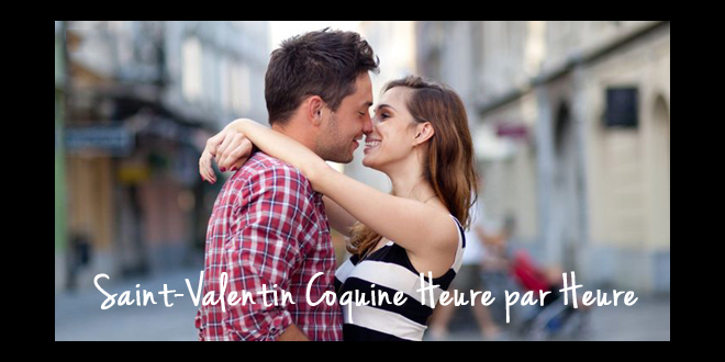 Déroulement de la Saint-Valentin heure par heure