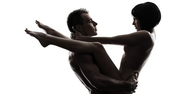 Positions accrobatiques