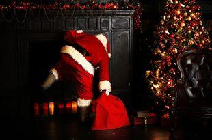 un cadeau cochon pour le Père Noël