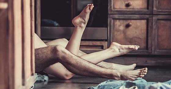 Une nuit chaude en sexe pour la Saint Valentin !